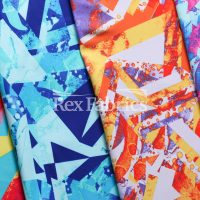 Geo Pop / 4-Way Stretch Poly Spandex Print Tricot