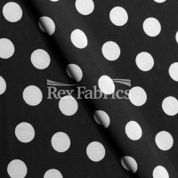 Jitterbug Dots - Black White