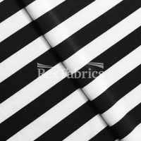 Jitterbug Stripes - Black White