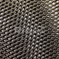 Diamond-Mesh-Foil-Black-Gold