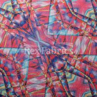 mystic-geo-poly-spandex-print-pink-multi-with-foil